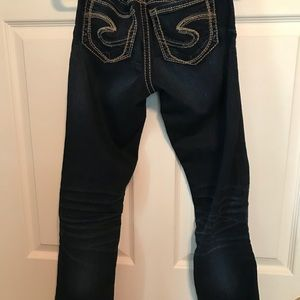 Silver Jeans Jeans - EUC Silver Suki mid boot jeans 26x33